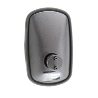 BRITAX MIRROR HEAD - CONVEX GLASS R1200 263 x 160mm FOR 10-22mm BRACKET