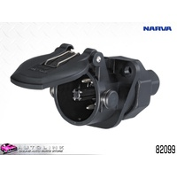 NARVA 24 VOLT EBS TRAILER PARKING SOCKET FOR ABS EBS BRAKE SYSTEMS 82099