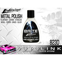 BRITE LIGHTNING METAL POLISH FOR STAINLESS ALLOY SILVER (AMAZING NEW FORMULA)