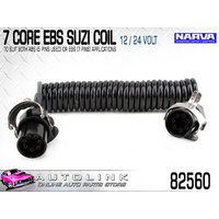 NARVA 12/24 VOLT 7 CORE EBS SUZI COIL 4.5 METRES FOR ELECTRONIC BRAKE SYSTEMS