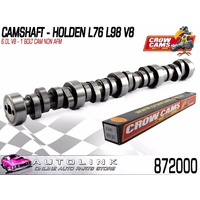 CROW CAMS CAMSHAFT STANDARD FOR HOLDEN 6.0L L76 L98 V8 1 BOLT - NON AFM ENGINES