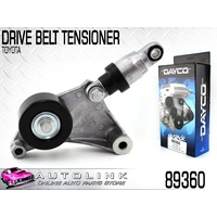 DAYCO 89360 DRIVE BELT TENSIONER FOR TOYOTA AVENSIS 2.0L 2.4L 4CYL 12/2001-2010