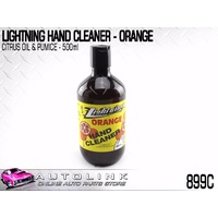 LIGHTNING CITRUS HAND CLEANER WITH PUMICE DISSOLVES GREASE & OIL 899C 500ml