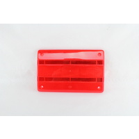HELLA 9.2320.01 RED LENS FOR HELLA 2320 2321 2422 2423 2424 COMBINATION LAMPS