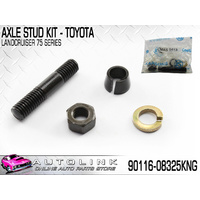 FRONT / REAR AXLE STUD & CONE WASHER KIT FOR TOYOTA LANDCRUISER LJ70 RJ70 PZJ#