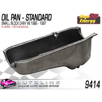 HIGH ENERGY 9414 STD OIL PAN SUIT SB CHEV 307 327 350 V8 86 - 97 - 1  PIECE SEAL
