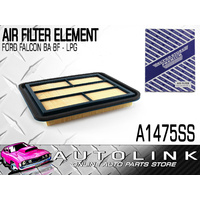 AIR FILTER A1475 FOR FORD FALCON BA BF 6cyl 4.0L E-GAS LPG MODELS