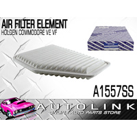AIR FILTER A1557SS SUITS HOLDEN CALAIS , COMMODORE VE VF 3.6lt V6 6.0lt V8