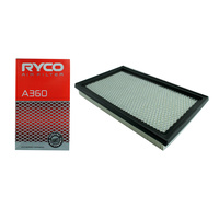 Ryco A360 Air Filter for Nissan Navara NX Coup NX-R Coupe Pathfinder Petrol VG3
