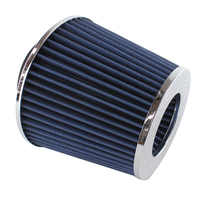 "3A RACING WS002-CH POD AIR FILTER 3"" OR 76mm CHROME RE-USABLE WINNER 601.2 CFM"
