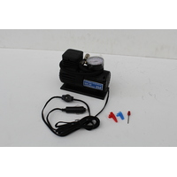 MINI AIR COMPRESSOR 250 PSI 12 VOLT PORTABLE CIGARETTE LIGHTER PLUG TYRE BIKE