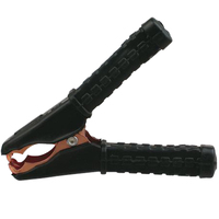 BATTERY NEGATIVE CLAMP 100 AMP RATING BLACK GRIP FULLY INSULATED EACH