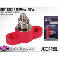 SMALL BASE POWER DISTRIBUTION STUD SINGLE TERMINAL 160A RED ACX3145BL