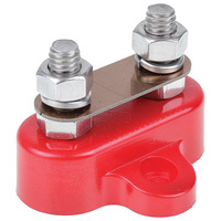OEX ACX3157 DUAL POWER CABLE STUD REMOTE TERMINAL 250A RED