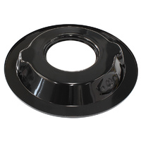 "AEROFLOW AF2251-1411 BLACK 14"" AIR CLEANER FILTER STEEL RECESSED DROP BASE PLATE"