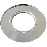 "AEROFLOW AF2851-1455 CHROME 14"" AIR CLEANER STEEL FLAT BASE PLATE FOR DOMINATOR"