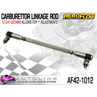 "AEROFLOW 12-3/4"" (320MM) CARBURETTOR LINKAGE ROD - ALLOWS FOR 1"" ADJUSTMENT"