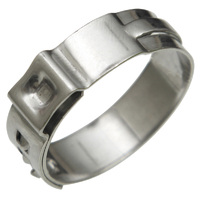 AEROFLOW AF444-06 AERO CLAMPS FOR -6 PUSH LOCK HOSE - PACK OF 5