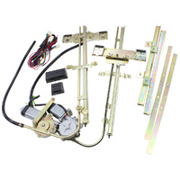 AEROFLOW AF49-1600 UNIVERSAL ELECTRIC POWER WINDOW KIT WITH SWITCHES & WIRING