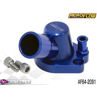 AEROFLOW BILLET THERMOSTAT HOUSING BLUE FINISH FOR HOLDEN 253 308 V8 AF64-2091