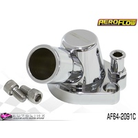 AEROFLOW BILLET THERMOSTAT HOUSING CHROME FOR HOLDEN 253 308 V8 AF64-2091C