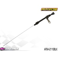 AEROFLOW BLACK FLEXIBLE ENGINE DIPSTICK FOR SMALL BLOCK CHEV V8 AF64-2110BLK