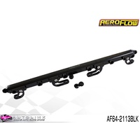 AEROFLOW BILLET FUEL RAIL KIT BLACK FOR FORD FG 4.0L XR6 F6 F6E AF64-2113BLK