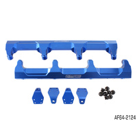 AEROFLOW BLUE BILLET EFI FUEL RAIL FOR HOLDEN GM V8 LSA SUPERCHARGED AF64-2124