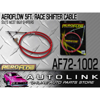 AEROFLOW RACE SHIFTER CABLE 5 FOOT LONG FOR MOST B&M SHIFTERS REPLACES BM 80833