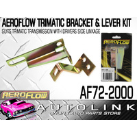 AEROFLOW TRIMATIC BRACKET & LEVER KIT WITH DRIVERS SIDE LINKAGE FOR B&M SHIFTERS