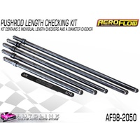 AEROFLOW PUSHROD LENGTH CHECKING KIT - 5 SIZES AF98-2050