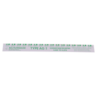 ACL FLEXIGAUGE AG-1 GREEN PRECISION PLASTIC STRIP FOR ENGINE BEARING X1