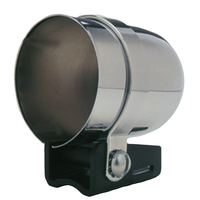 "AUTOMETER AU2203 AUTOGAUGE CHROME MECHANICAL MOUNTING CUP FOR 2-1/16"" GAUGES x3"