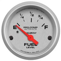 "AUTOMETER AU4314 ULTRA LITE SERIES ELECTRIC FUEL LEVEL GAUGE 2-1/16"" 52mm"