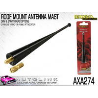 DNA ROOF MOUNT ANTENNA MAST FOR BMW 3 SERIES 1990-1999 E36 100mm LENGTH