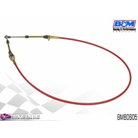 B&M 5FT SUPER DUTY RACE SHIFTER CABLE - EYELET / THREAD ENDS 1981 ON BM80605