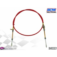 B&M BM80831 3ft SUPER DUTY RACE SHIFTER CABLE - EYELET / THREAD ENDS