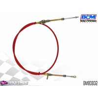 B&M 4FT SUPER DUTY RACE SHIFTER CABLE - EYELET / THREAD ENDS BM80832