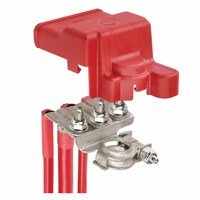 PROJECTA BATTERY POSITIVE 3 WAY DISTRIBUTION TERMINAL WITH RED COVER BT925-P1