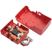PROJECTA BT950-P1 FUSED POSITIVE BATTERY DISTRIBUTION TERMINAL RED WITH COVER