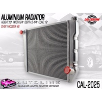 "CAL CUSTOMS ALUMINIUM RADIATOR SUIT EARLY HOLDEN V8 - 19"" HIGH 24"" WIDE CAL-2025"