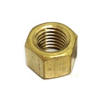 "CHAMPION BRASS MANIFOLD NUT 1/4"" BSF CMN105 ( SOLD AS 1 )"