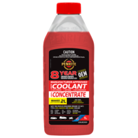 PENRITE 8 YEAR 500,000km RED CONCENTRATE COOLANT 1L COOLRED000