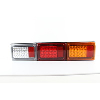 LED TRIPLE JUMBO COMBINATION TAIL LAMP - STOPTAIL / REVERSE / TURN SIGNAL 9-33V