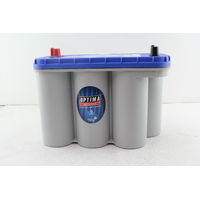 OPTIMA D31M BLUE TOP MARINE AGM SEALED DEEP CYCLE AND STARTING BATTERY BOAT 4X4