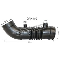 DAYCO AIR INTAKE HOSE FOR FORD LASER KJ 1.6L 1.8L 4CYL 1994 - 1996 DAH110