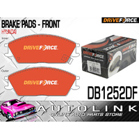 BRAKE PADS FRONT SUIT HYUNDAI EXCEL 1.5lt SEDAN & HATCH 1986 - 6/2000
