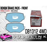 BENDIX BRAKE PADS FRONT FOR SUZUKI VITARA 2.5lt V6 SQ625 2005 - NOW (DB1312-4WD