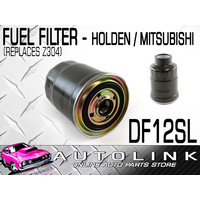 SILVERLINE FUEL FILTER SUITS MITSUBISHI DELICA 2.5lt 4CYL TURBO DIESEL 1989-1995