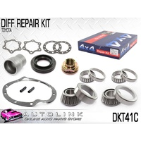 DIFF BEARING & SEAL REPAIR KIT SUIT TOYOTA HILUX TGN16 2WD 2.7L 2005-2014 DKT41C